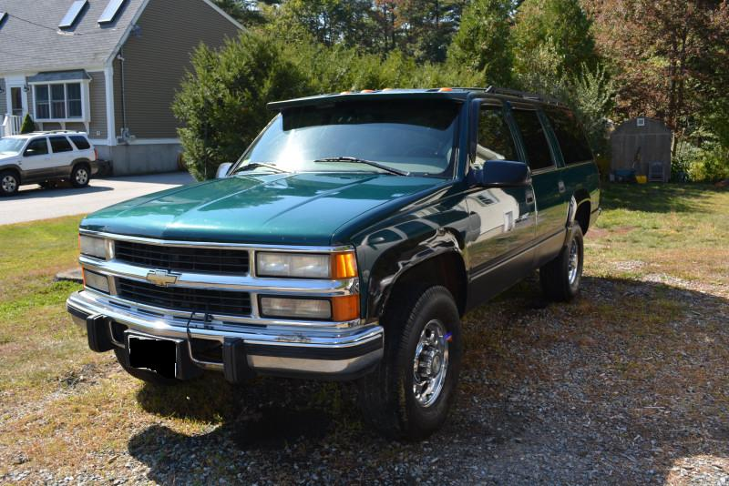 for sale 1997 chevy suburban lt 6 5 td diesel place. Black Bedroom Furniture Sets. Home Design Ideas